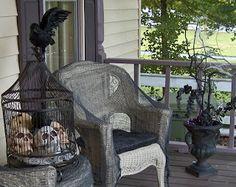 Halloween Home Ideas: Front Porch Ideas