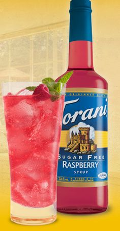 Vanilla Soda                                                 What you need:      2tbsp. of Torani Sugar Free Vanilla Syrup ( you can also use their other syrups, experiment!)     1 cup of sparkling water or seltzer