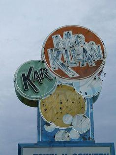 Car Wash Neon Sign | Flickr - Photo Sharing! #carwash Mr. Klean Kar Wash #Neon #CarwashLive #Abington Virgina