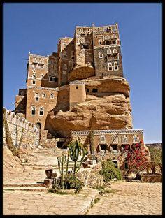 Wadi Dhar Rock Palace, Summer Palace, Yemen