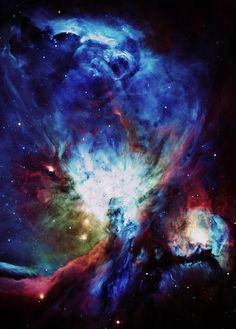 orion nebula, sky, galaxies, univers, nebulas, star, library quotes, astronomy, bright colors
