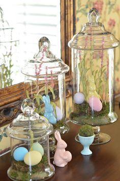 "Easter ""terrariums"""