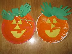 cute pumpkin craft