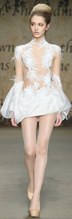 Zuhair Murad Couture FallWinter 2014-2015 Collection pics