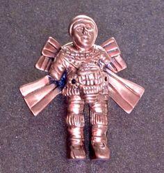 Ancient Central American Rocketman Replicas as worn by Giorgio A. Tsoukalos