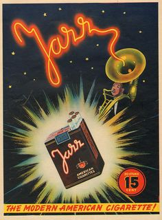 Adv Jazz cigarettes 1939
