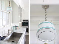 country houses, light fixtures, sink, kitchen, pendant lights, design idea, countertop