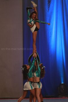 CHEER Extreme   THOSE UNIFORMS competitive cheerleader stunt bow and arrow cheerleading m.17.44 moved from @Kythoni Cheerleading: Competitive board http://www.pinterest.com/kythoni/cheerleading-competitive/ #KyFun