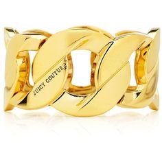 Stretch Chain Bracelet ($30) ❤ liked on Polyvore