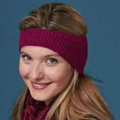 The coming of autumn means many things, some welcome and some not. A great knitting-for-beginners project, the Wine Harvest Head band combines a little bit of both, bringing fall's rich color palette to bear against the growing chill.