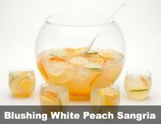 White Zinfandel Sangria on Pinterest | White Peach Sangria, Peach ...