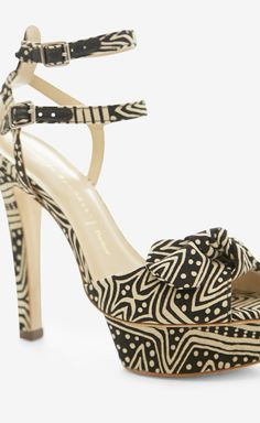 Loeffler Randall Black And White Sandal//