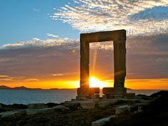 Apollo's Door, Naxos Greece