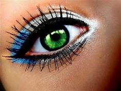 great makeup and beautiful eyes