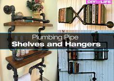 plumbing-pipe-shelves | DIY for Life
