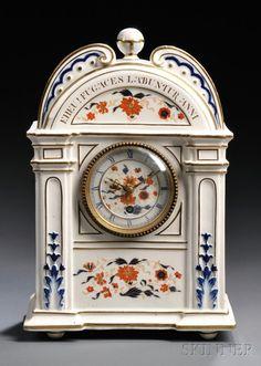 Wedgwood Queen's Ware Mantel Clock