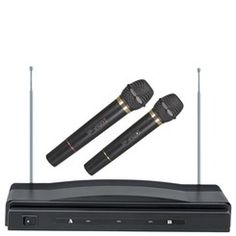 SuperSonic® Wireless Dual-Microphone System