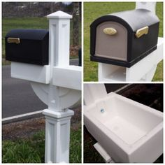 Mailbox with Planter Mail Box Planter Mail Boxes Decor Flower Pot Planters MAIL