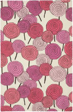 Candy Rug in Blush