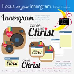 Focus on Your Innergram [New Beginnings, YWIE, Girls Camp, Youth Conference]