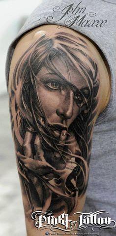 radic ink, ink unit, john maxx, romania, woman tattoo