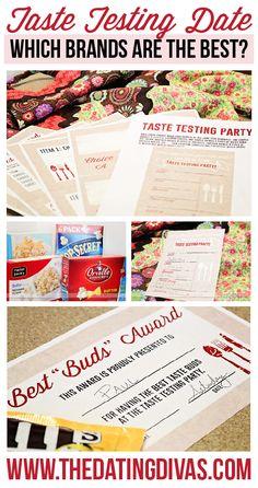 taste testing date