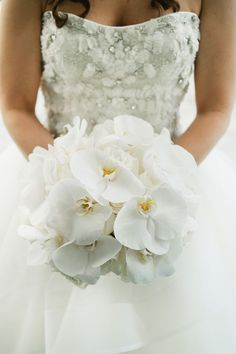 Orchid bridal bouquet. Photo by: Kate Connolly from Off BEET Productions.