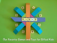 Favorite Games and Toys for Gifted Kids