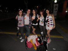 Me (girl in crazy outfit) & the katycats! #KP3D