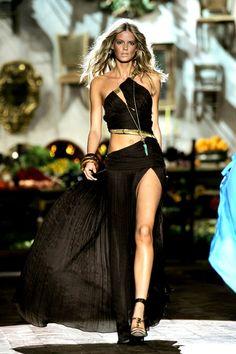 great runway dress fashion