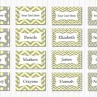 Blank editable multipurpose tags to use around your classroom.  These cute grey and yellow labels come in 4 different designs: Polka dots, Chevrons...