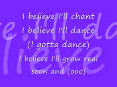 Yolanda Adams - I believe. LYRICS