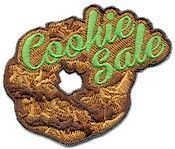 Girl Scout Fun Patch. Cookie Sale Fun Patch only $.69 or less! Go to PatchFun.com to see our affordable cue patches.