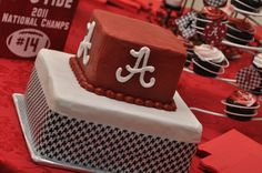 Alabama Grooms cake.. she did an awesome job with our cake :)
