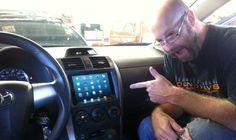 iPad mini in the dashboard of your car!
