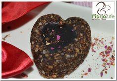 Inimioare cu inima de ciocolata pentru mic dejun / 15 inimioare