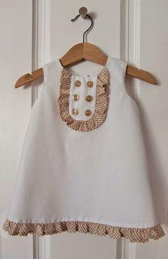 DIY Kids Dress - FREE Sewing Pattern and Tutorial