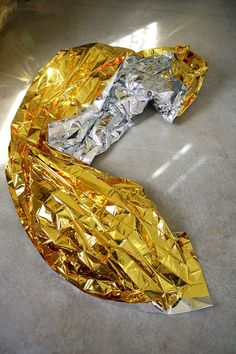 Banana wrapper. Xk #kellywearstler #myvibemylife #metallic