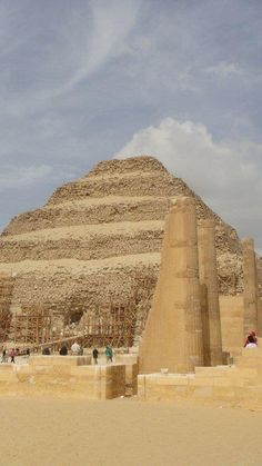 Zoser, the oldest pyramid ever found (so far)