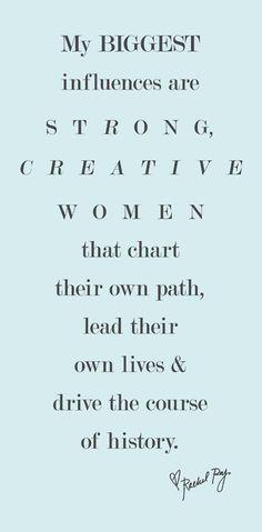 strong, creative women <3