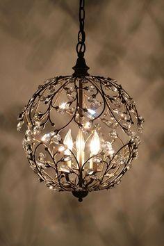 chandelier....