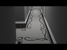 My Painted Plywood Subfloor - Tutorial 8 - Hallway Design Concepts