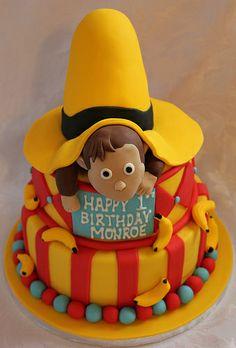 Curious George birthday cake!!