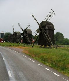 Oland Windmills - Kalmar, Sweden
