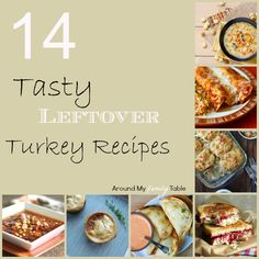 *14 Tasty Recipes for Leftover Turkey - #thanksgiving #leftover #turkey # recipes