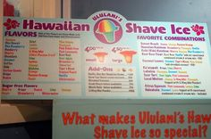 Hawaiian Shave Ice- came here after bookstudy every week in the summer!