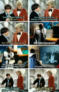 When it comes to past Doctors dealing with one another, this one partially tops it off. ~Doctor Who