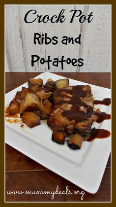 Crock Pot Ribs and Potatoes