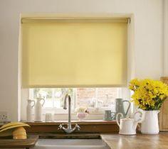 Kitchen roller blind