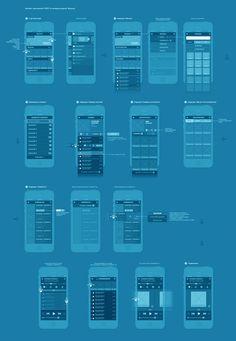 SVOY app design by Alexandre Efimov, via Behance #design, #UI, #UX, #interface, #experience, #wireframe